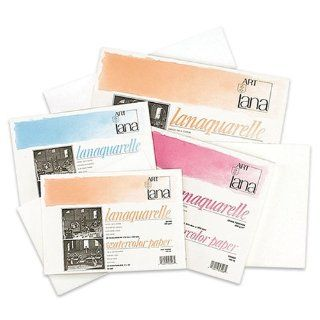 Lanaquarelle Watercolor Paper 140 lb. Block (20 Sheets) 9x12   Hot