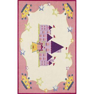 Tweens Pink Castle Rug (411 x 7)