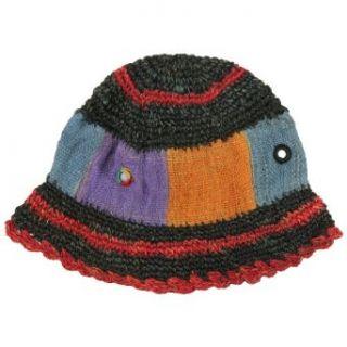 Earth Divas NFP 11 248 Hemp Crocheted & Paneled Hat