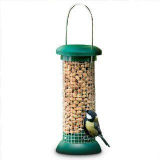 Relaxdays Vogel Futterstation Futtersäule Vogelfutterspender Erdnuss