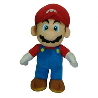 Super Mario Brothers Mario 9 inch Plush Collectible Stuffed Toy Today