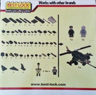 Best Lock Military Construction Set 140pc Helicopter