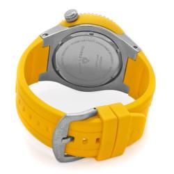 Swiss Legend Mens Neptune Yellow Silicone Watch