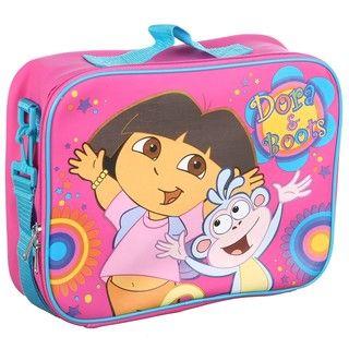 Nickelodeons Dora the Explorer Square Childrens Suitcase