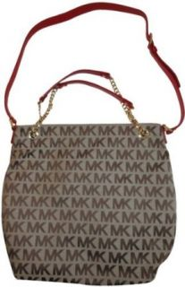 Womens Michael Kors Purse Handbag Large Chain Shoulder