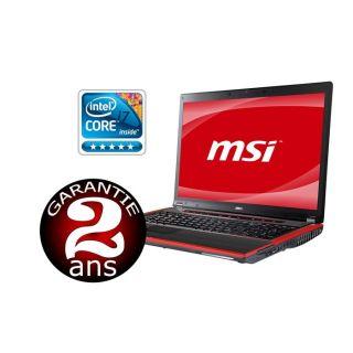 MSI GX640 216FR   Achat / Vente ORDINATEUR PORTABLE MSI GX640 216FR