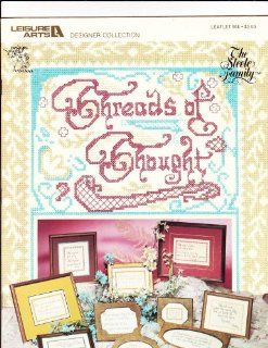 Threads of Thought (Leaflet 908) (Craft Book, Cross Stitch) Vanessa