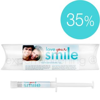 Love Your Smile 35 percent Teeth Whitening Gel Refill Today $17.99