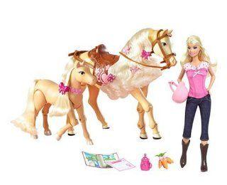 Mattel N1692   Barbie mit laufender Tawny und Pony:
