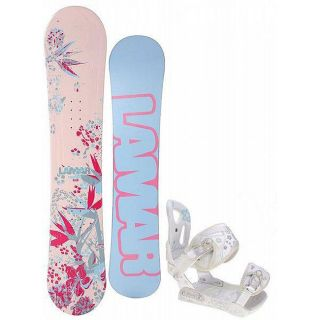 Lamar Merlot 149 cm Womens Snowboard with Lamar MX35 Bindings
