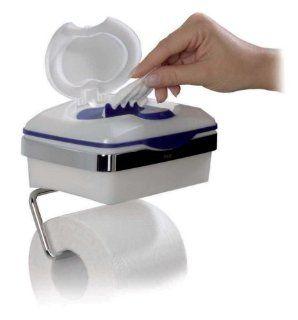 Hakle 4422 Kombi Toilettenpapierhalter Chrom glänzend
