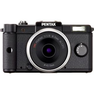 Pentax Q 12.4MP Black Mirrorless Digital SLR Camera with Lens Kit