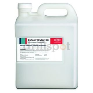 kg / 1 Gallon Pail KRYTOX[REG] GPL 103 Clear General Purpose Line Oil