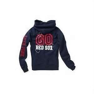 Victorias Secret Pink Bling Red Sox Hoodie Jacket Boston