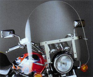 Clear 17 Windshield for Harley Sportster 883 1200 XL