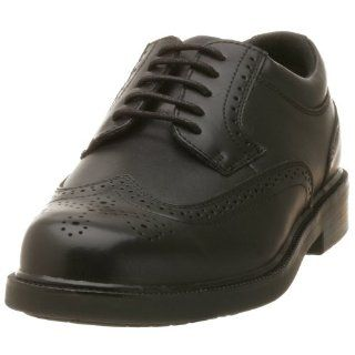 Nunn Bush Mens Adams Wingtip Oxford,Black Smooth,8 W: Shoes