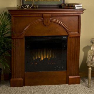Luxemburg Classic Mahogany Electric Fireplace