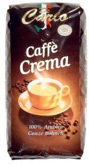 Di Carlo Caffe Crema Ganze Bohne, 4er Pack (4 x 1000 g Beutel):