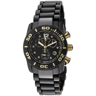 Swiss Legend Womens Commander Black High Grade Ceramic Watch