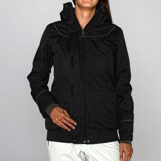 Rip Curl Womens Sorbet Slouch Moonless Black Ski Jacket