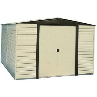Arrow Dallas Vinyl coated Steel Shed