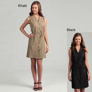 Calvin Klein Womens Sleeveless String Waist Dress