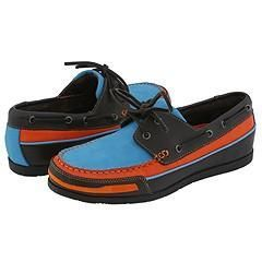 GBX 13146 Dark Brown Action/Max Orange Aztec/Lagoon Blue Nubuck