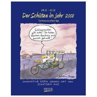 Cartoon Kalender Der Schütze im Jahr 2009, Cartoons von Johann Mayr