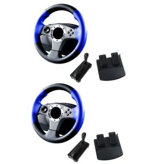 in 1 Pro Racing Wheels For Playstation 3   2 Pack