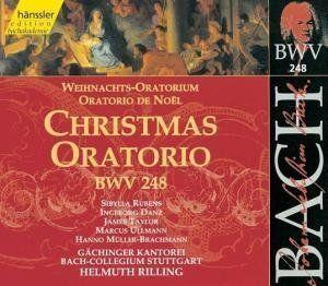 Edition Bachakademie Vol. 76 (Weihnachtsoratorium BWV 248) (SWR Live