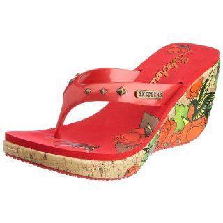 Skechers Plateauschuhe ROSE TATTOO red, Größe41 Schuhe