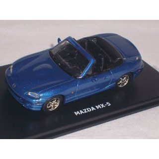 MAZDA MX 5 MX5 NB BLAU 2. GENERATION BLUE 1/43 MAXI CAR MODELL AUTO