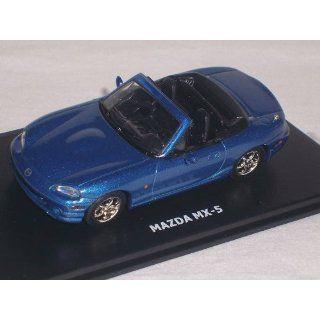 MAZDA MX 5 MX5 NB BLAU 2. GENERAION BLUE 1/43 MAXI CAR MODELL AUO