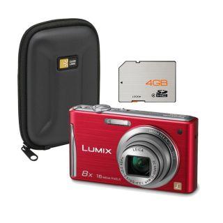 Panasonic DMC FS35 rouge pas cher   Achat / Vente appareil photo