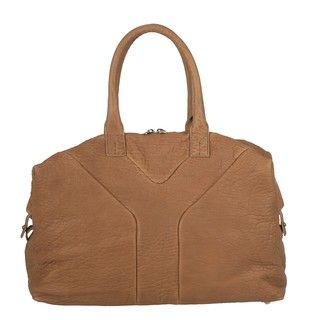 Yves Saint Laurent Medium Easy Textured Leather Bowler Bag