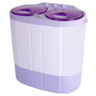TecTake 2kg Mini Waschmaschine Miniwaschmaschine + 1,2kg