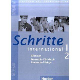 Schritte international 1+2. Glossar Deutsch Türkisch: Deutsch als