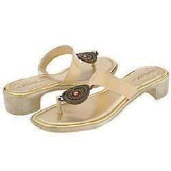 Matisse Erika Gold Patent Sandals