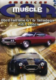 Car Ford Fairlane GT& Talladega   427 Cobra (DVD)