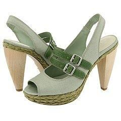 Nine West Cityscene Light Green Multi Fabric