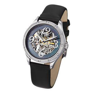 Stuhrling Original Womens Audrey Freedom Automatic Skeleton Watch