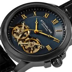 Stuhrling Original Mens Gemini Skeletonized Watch