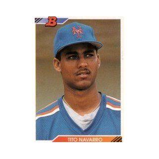 1992 Bowman #139 Tito Navarro RC Collectibles