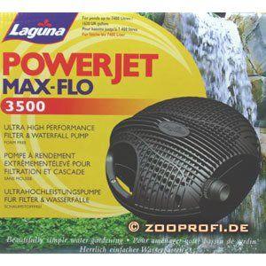 Laguna Powerjet Max Flo 3500 Wasserfall  & Filterpumpe: