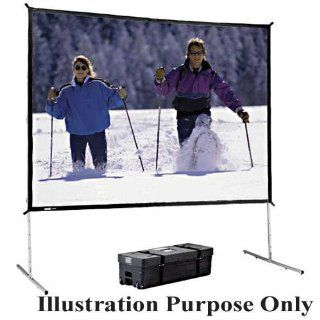 Complete Front and Rear Projection Screen   103 x 139 Electronics