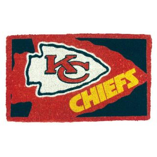 Kansas City Chiefs 18 x 30 Door Welcome Mat