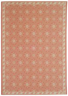 Martha Stewart Pinwheel Cherry Blossom Wool Rug (39 x 511