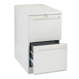 HON Flagship 22 inch Deep 2 Drawer Pedestal File Cabinet