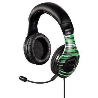 Hama Shikaar Gaming Headset grün Computer & Zubehör