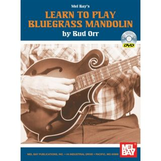 Mel Bay Learn To Play Bluegrass Mandolin Book/DVD Set